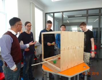 Чемпионат по строительству машин Голдберга среди студентов физико-технического факультета